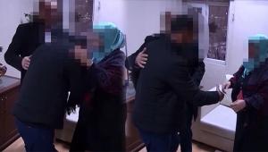 PKK'lı teslim olup ailesiyle buluştu