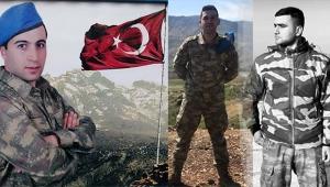 Şehit askerlerin isimleri ve memleketleri belli oldu