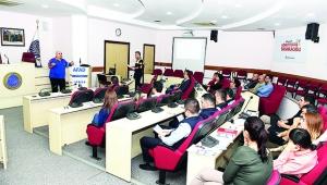 """Seyhan Belediyesi'nde """"acil durum"""" eğitimi"""