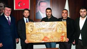 Son eserini Cumhurbaşkanı Erdoğan'a yaptı