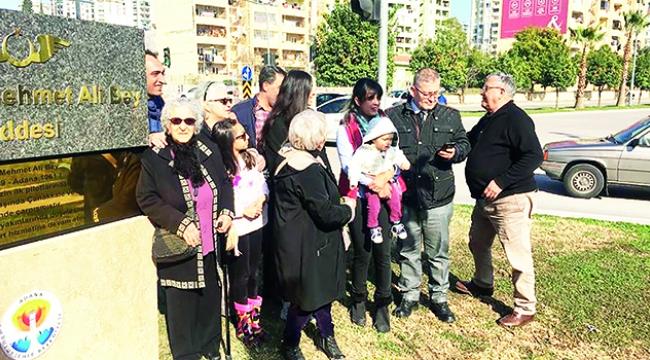 Tayyareci Mehmet Ali Bey'in adı artık caddede yaşayacak