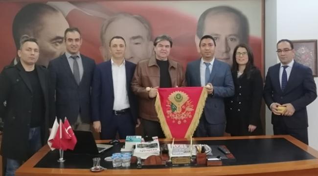 Türk Büro Sen Adana Şube Başkanı Akan, Avcı'yı ziyaret etti