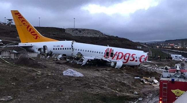 Uçak kazası sonrasında pilotların ifadesi ortaya çıktı