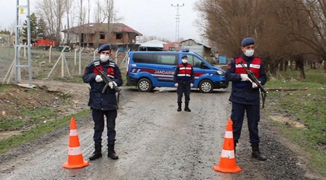 39 yerleşim yerinde karantina uygulamasına başlandı