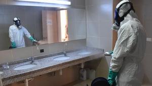 Adana dezenfekte ediliyor