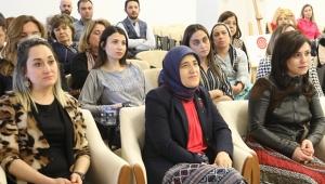 Beyhan Demirtaş sağlıklı beslenme söyleşisine katıldı