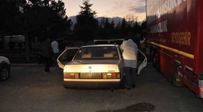 Çalınan otomobil terk edilmiş halde bulundu