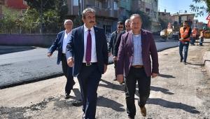 Çetin: Sokakları program dahilinde asfaltlayacağız