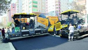 Çukurova ve Ceyhan'da asfalt çalışması