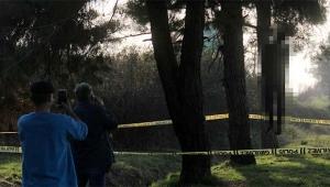 Genç adam ormanlık alanda asılı bulundu