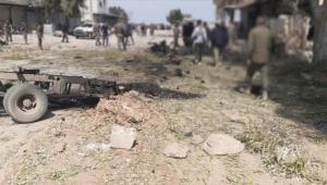 Köye bomba yüklü araçla saldırı
