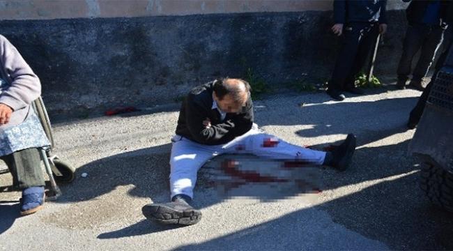 Polisi bıçakladı ruh sağlığı hastanesine yatırıldı