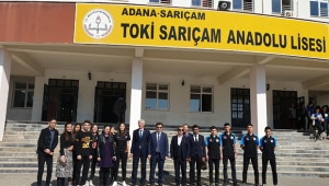 TOKİ Sarıçam Anadolu Lisesi Adana'nın gurur kaynağı oldu
