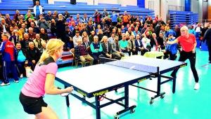 """Veteranlar Masa Tenisi Turnuvası """"Koronavirüs"""" nedeniyle iptal edildi"""