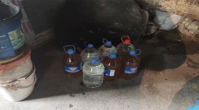 Adana'da 400 bin lira değerinde kaçak içki ele geçirildi
