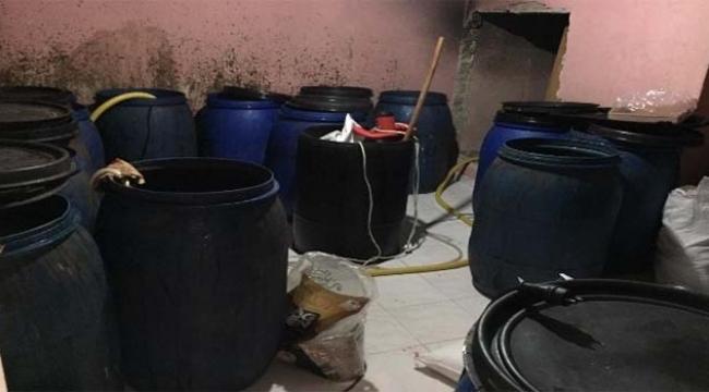Adana'da 650 bin liralık kaçak içki ele geçirildi