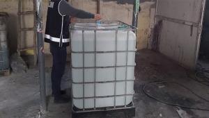 Adana'da 900 bin lira değerinde kaçak alkol ele geçirildi
