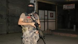Adana'da hava destekli narkotik uygulaması