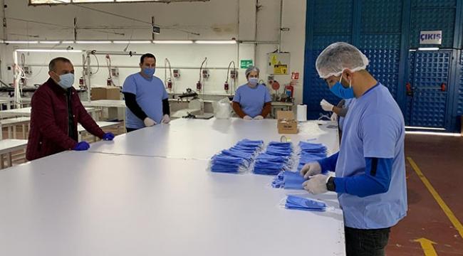 Adanalı vali, 200 bin maske üretimi sağladı