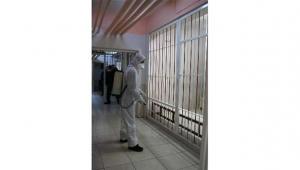 Adliye ve cezaevleri dezenfekte edildi