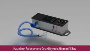 Alternatif solunum cihazı üretildi