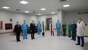 Balcalı'da 35 odalı dijital entegrasyonlu ameliyathane