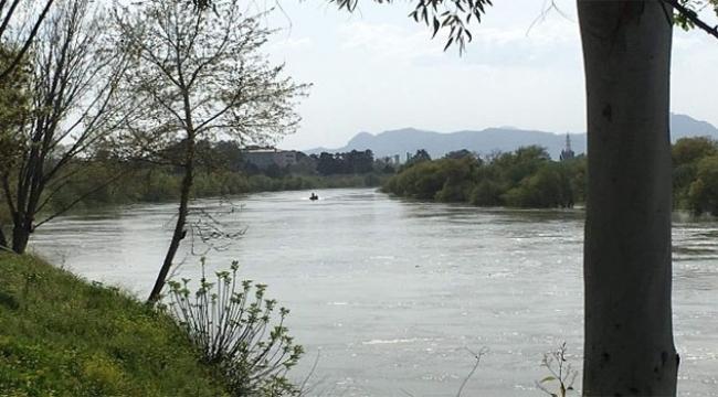 Nehre düşen şahıstan haber alınamıyor