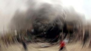 Teröristler şantiyeye saldırdı