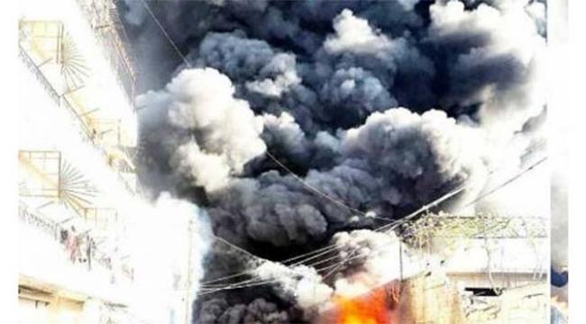 Yakıt tankeri patladı yaralılar var