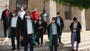 Adana'da avukatlardan