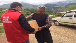 Adana Vefa Sosyal Destek Grubu yardımlarına devam ediyor