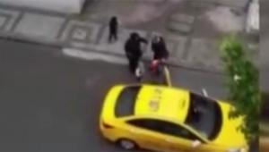 Doğum yapan kadını taksiden atıldı