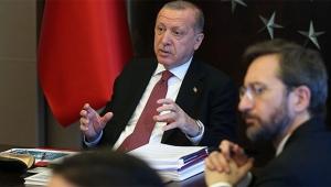 Erdoğan Covid-19 hastaları ile görüştü