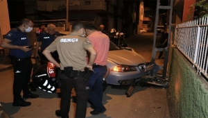 İhbar yerinde kurşunlanmış otomobil bulundu
