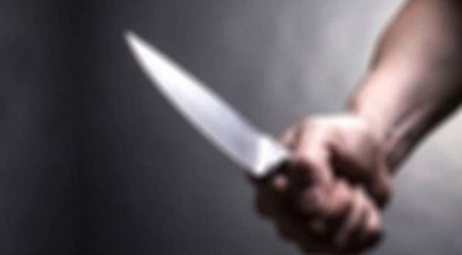 İki kişi arasında bıçaklı kavga