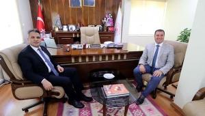 Başsavcı Yurdagül'den, Ataşbak'a veda ziyareti