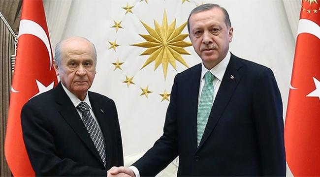 Erdoğan, MHP Lideri Bahçeli'yi kabul etti!