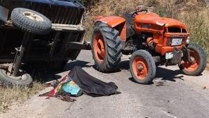 Feci traktör kazası: 2 ölü