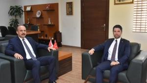 Mehmet Ay Zafer Aktaş'a hayırlı olsun ziyaretinde bulundu