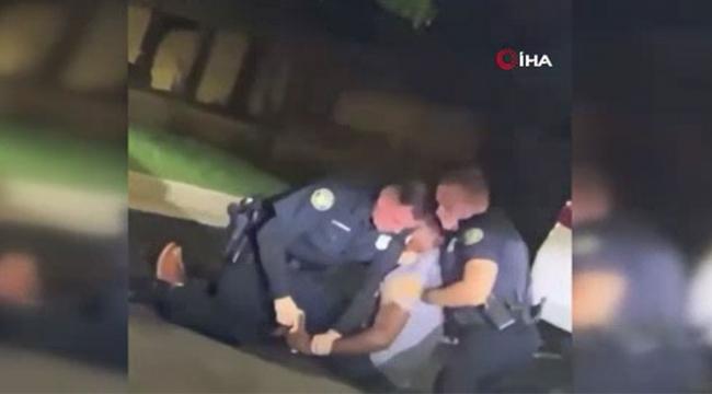 Uyuyan siyahi adamı vurarak öldürdüler