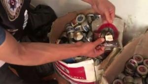 1 ton 177 kilogram kaçak nargile tütünü ele geçirildi