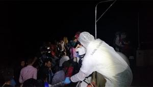 61 sığınmacı kurtarıldı