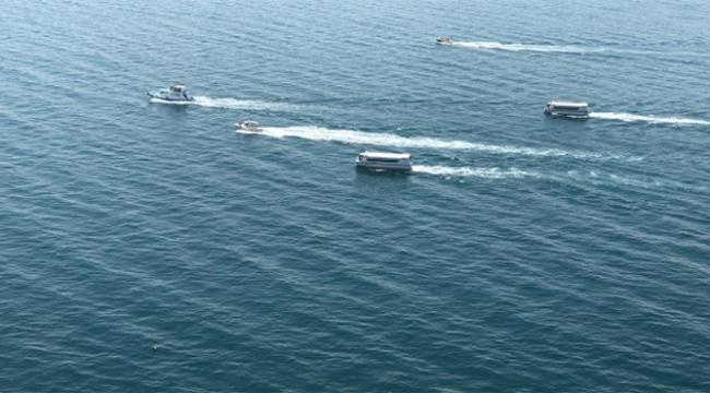 Bakan Soylu batık tekneyi arama çalışmalarını ineledi