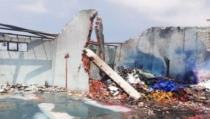 Havai fişek fabrikasındaki patlamada 184 bölümde hasar tespit edildi