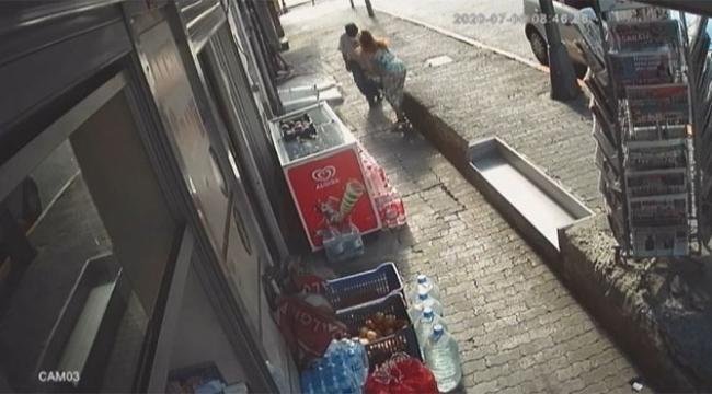 Kadına silahlı saldırı dehşeti kamerada