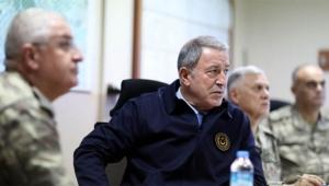 Milli Savunma Bakanı ve Genelkurmay Başkanı Trablus'ta