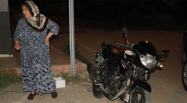 Motosiklet hırsızlarına suçüstü