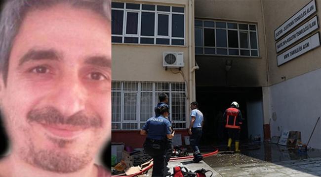 Okulda patlama öğretmen hayatını kaybetti