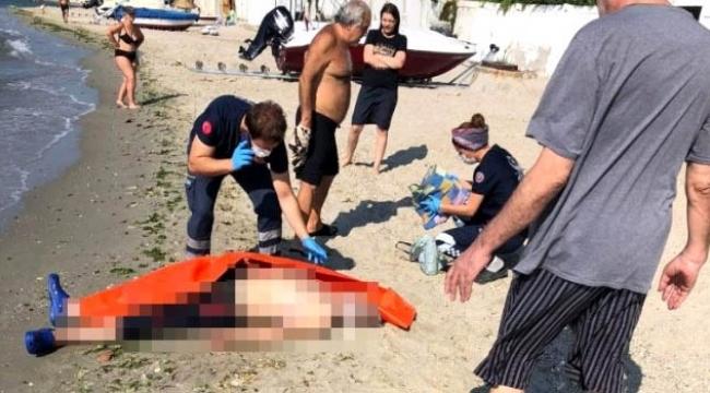 Sahilde bir erkek cesedi bulundu