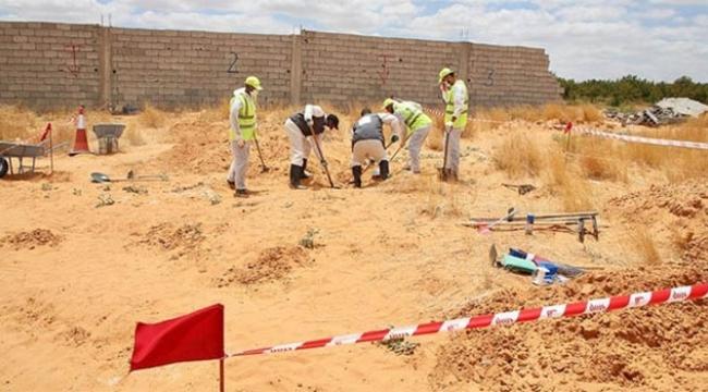 Toplu mezarda 6 cansız beden bulundu